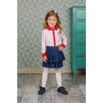 Блузка текстильная для девочек 205420