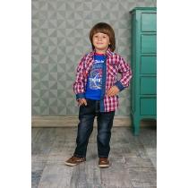 Рубашка текстильная для мальчиков 206156