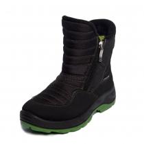 Сапоги зимние, черно-зеленый техник 19000(16-2)_black_green