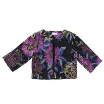 Жакет текстильный для девочки 215901