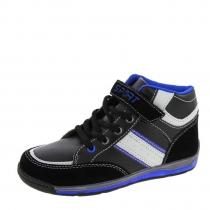 Ботинки для мальчика, черно-синие A-B57-60-C