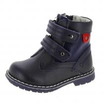 Ботинки для мальчика, темно-синие A-B61-40-B