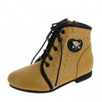 Ботинки для девочки, песочные A-B63-82-C