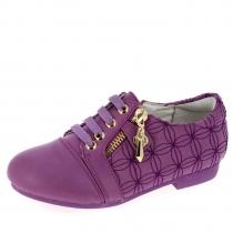 Ботинки для девочки, фиолетовые A-B63-88-F