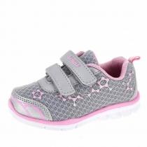 Кроссовки для девочки, серые A-B65-21-C