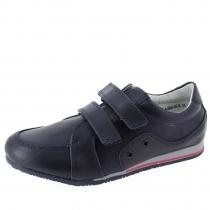 Туфли для мальчика, темно-синие A-B66-80-B