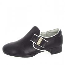 Туфли для девочки, черные A-B55-61-A