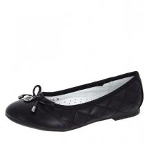 Балетки для девочки, черные A-B68-71-A