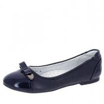 Балетки для девочки, темно-синие A-B68-75-C