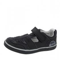 Туфли для мальчика, черные A-B61-55-E