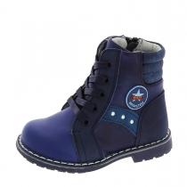 Ботинки для мальчика, синие A-B61-38-B