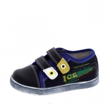 Ботинки для мальчика, темно-синие A-B61-58-B