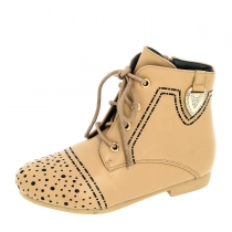 Ботинки для девочки, бежевые A-B63-81-C