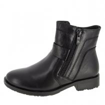 Зимние ботинки для мальчика, черные A-B55-63-A