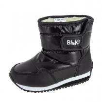 Сапоги для мальчика, черные A-B74-14-G