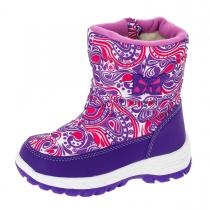 Сапоги для девочки, фиолетовые A-B74-72-E