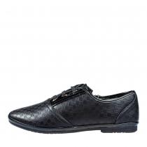 Туфли для девочки, черные A-B63-52-H