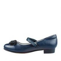 Туфли для девочки, синие A-B68-16-B