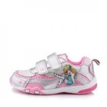 Кроссовки для девочки, белый/розовый A-T60-79-B