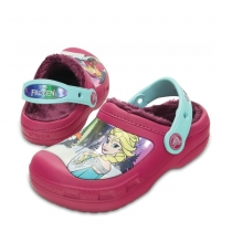 Шлепанцы (САБО) Kids' Creative Crocs Frozen Lined Clog 201408-675