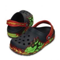 Шлепанцы (САБО) CrocsLights Fire Dragon Clog 202661-410