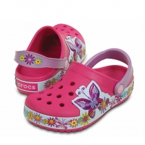 Шлепанцы (САБО) Crocband Butterfly Clog 202664-6X0