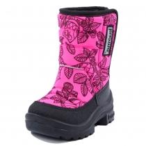 Утепленные сапоги (финские валенки) Tarravarsi, Neon pink Owl 1211-6662