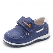 Мокасины для мальчика, синие 037518