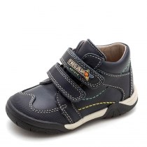 Ботинки для мальчика, черные 068222