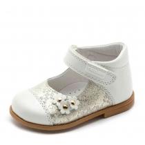 Туфли для девочки, белые 054135