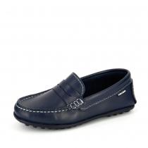 Мокасины для мальчика, темно-синие 120520