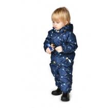 Весенний комбинезон для малышей S17403  DARK BLUE