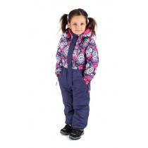 Зимний комбинезон для девочек Виражи Wonderland W16114_PURLE