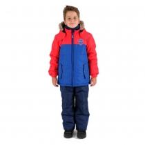 Зимний комплект для мальчиков: куртка и полукомбинезон / брюки Кубок Ванкувера W16204_RED