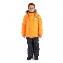 Зимний комплект: куртка и полукомбинезон / брюки Просторы Авалона W16208_ORANGE