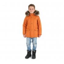 Зимняя парка для мальчиков W16212_YELLOW