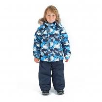 Зимний комплект для мальчиков: куртка и полукомбинезон / брюки Легенда Гудзона W16225_BLUE