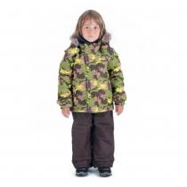 Зимний комплект для мальчиков: куртка и полукомбинезон / брюки Легенда Гудзона W16225_GREEN
