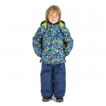 Зимний комплект для мальчиков: куртка и полукомбинезон / брюкиНемецкий стиль W16232_BLUE