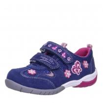 Кроссовки для девочки, синий/малиновый 6-00135-88