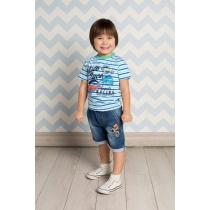 Бриджи джинсовые для мальчиков 711013
