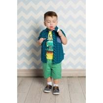 Рубашка текстильная для мальчиков 711015
