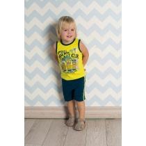 Комплект трикотажный для мальчиков: майка, шорты 711022