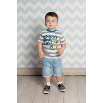 Шорты джинсовые для мальчиков 711027