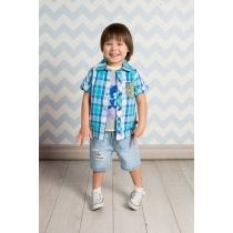 Рубашка текстильная для мальчиков 711038