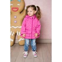 Куртка текстильная для девочек 712001