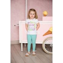 Комплект трикотажный для девочек: брюки 2 шт 712005