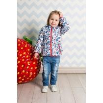 Куртка текстильная для девочек 712025