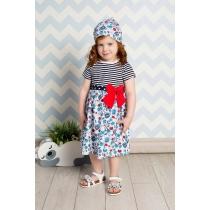 Платье трикотажное для девочек 712028