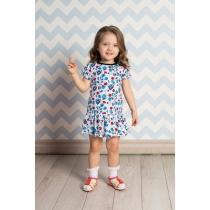 Платье трикотажное для девочек 712030